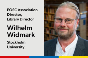 Wilhelm Widmark, Library Director, Stockholm University